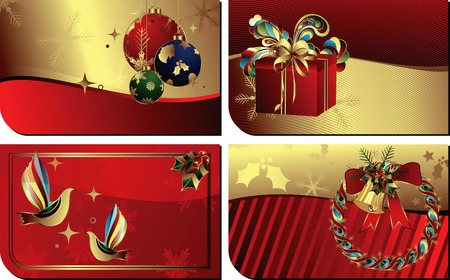 Gift Cards Templates Vector