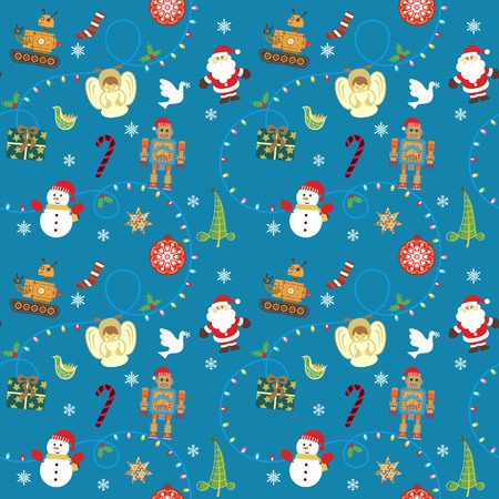 Christmas Design Pattern SEAMLESS 2 Vector