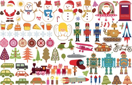 Christmas Design Element Illustration
