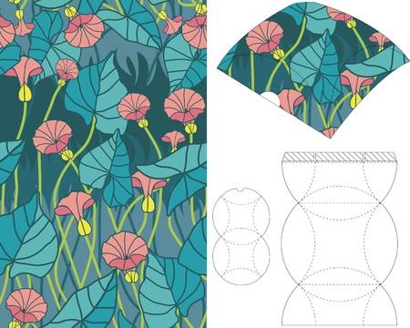 layout: 3d gift box folding 10