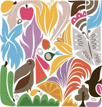Floral Design Elements 7 Vector