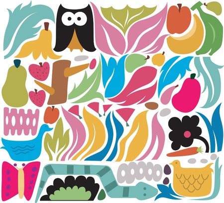 design elements: Floral Design Elements 5 Illustration