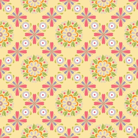 pattern: Oriental Floral Pattern