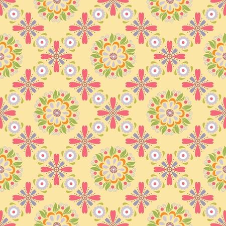 floral: Oriental Floral Pattern