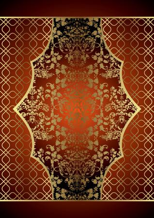 vintage background: Vintage Floral Background