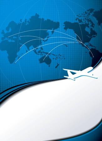 viaje de negocios: Viaje de negocios Vectores
