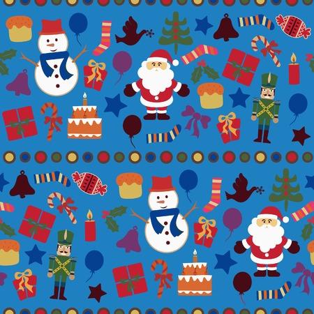 paloma caricatura: Patr�n de elementos de Navidad 8 de Abstract