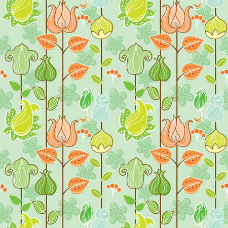 floral: Seamless Floral Pattern 1