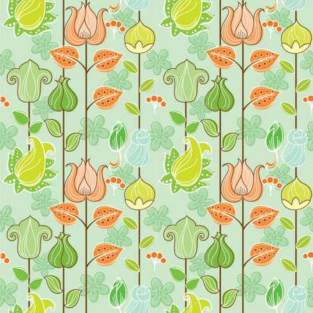 seamless: Seamless Floral Pattern 1