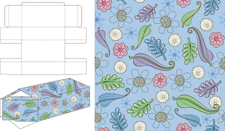 layout: 3D Gift Box Die Cut 1 Illustration
