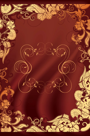cover: Chocolate Background Illustration
