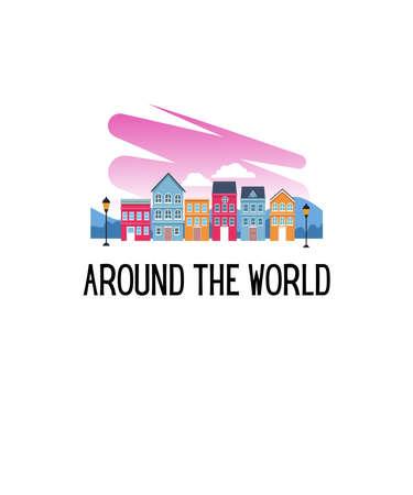 Around The World 스톡 콘텐츠