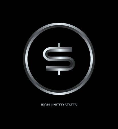 Badge d'argent pour les applications, les sites Web et le secteur des affaires.