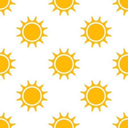 Sun seamless pattern. Background. Abstract geometric shape texture. Design template for wallpapers, wrapping, textile. Vector Illustration