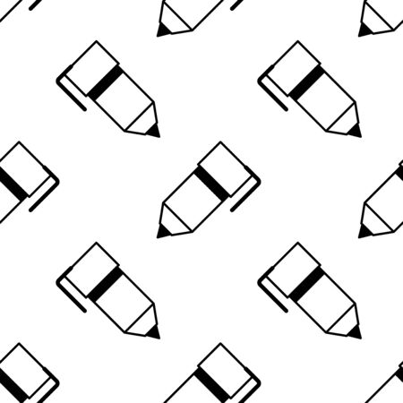 Pen seamless pattern. Background. Abstract shape texture. Design template for wallpapers, wrapping, textile. Vector Illustration