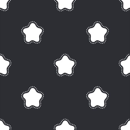 Festive background for new year or christmas. Seamless texture of the stars. For wallpaper, pattern fills, web page, surface textures, textile print, wrapping paper - Vector