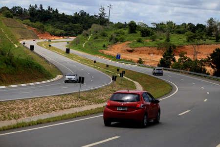 salvador, bahia / brazil - march 29, 2019: View of Via Metropolitana, highway that connects Estrada do Coco (BA 099) in Camacari, with highway CIA Aeroporto in Salvador. Editorial