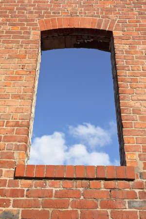 Window to the future Stock Photo
