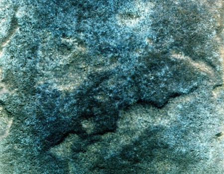 granite texture: Green blue stone texture relief close up may be used as a background