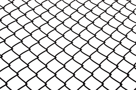 Wire rhomb pattern steel net background