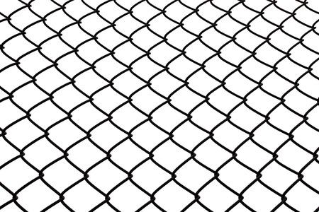 Wire rhomb pattern steel net background