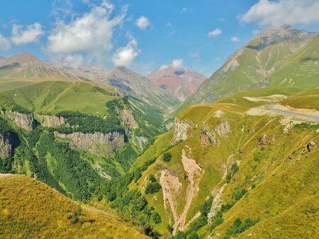 georgian: Caucasus Mountains and The Georgian Military Road