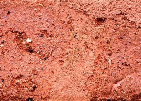 porous brick: Surface of red brick in close-up as a texture