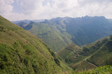 Ma Pi Leng Pass in Northern Vietnam