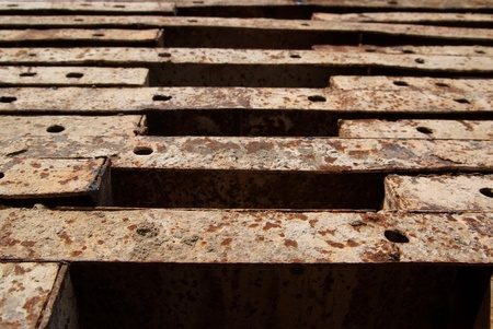 Texture of Steel for casting concrete blocks Stock Photo - 12918325