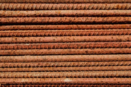 The surface of the steel is rust  Stock Photo - 12918327