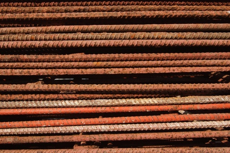 The surface of the steel is rust Stock Photo - 12918350