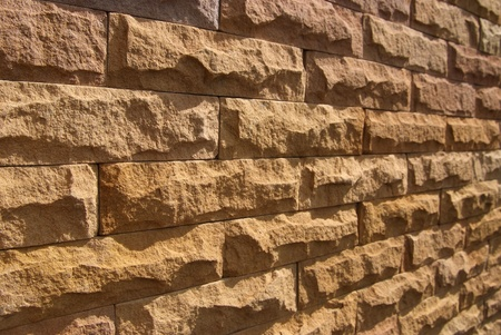 Sand stone wall surface, background of decorate Stock Photo - 15527563