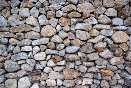 Background and texture of stone wall . photo