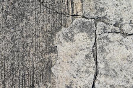 ravel: Composition of cracked concrete texture closeup background.