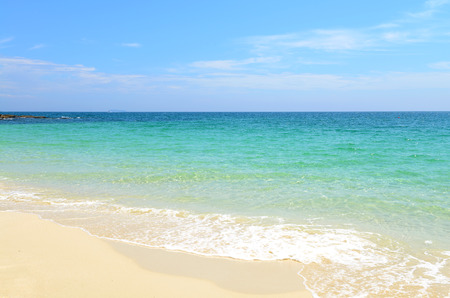 nature scene tropical beach and sea in koh samed island Thailand  Banque d'images