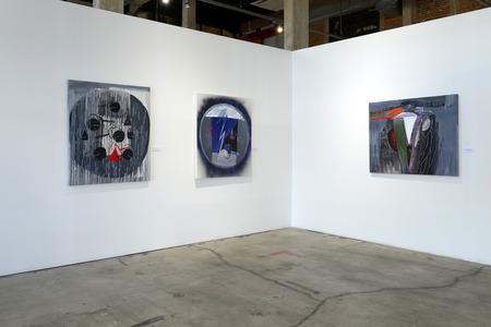 tradeshow: BANGKOK - JANUARY 16: Art Exhibition by Kamol Tassananchalee & Friends 71 years anniversary on January 16, 2015 at Ratchadamnoen Contemporary Art Center in Bangkok, Thailand.