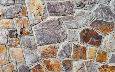 gothic build: Background of brown stone wall texture photo