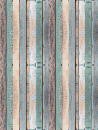 old wood floor: Wall and floor old color wood plank texture for background Stock Photo