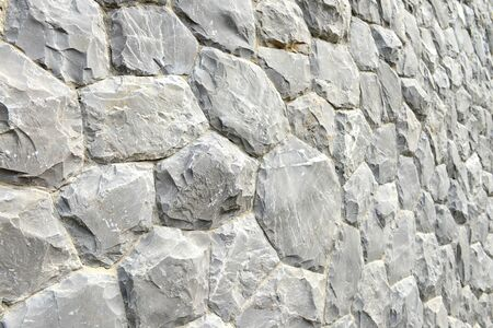 gothic build: Gray stone wall texture and background Stock Photo