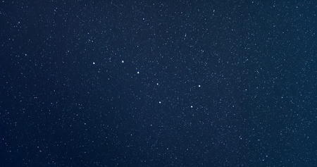 Amazing Ursa Major or Big Dipper or Great Bear constellation Banco de Imagens