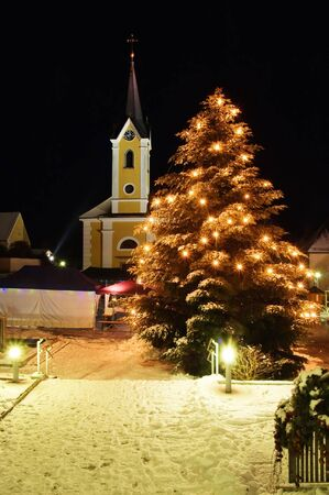 Christmas in an Austrian Village Stock Photo - 5709790