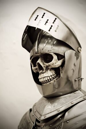 Skeleton in a knights Armor Stock Photo - 5819179