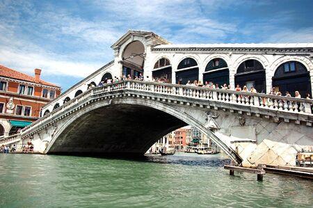 Famous Rialto Bridge Stock Photo - 5961392