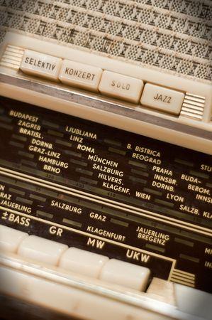 Detail of an antique Radio Stock Photo - 6884394