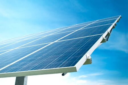 Detail of a Solar Panel Stock Photo - 6891399