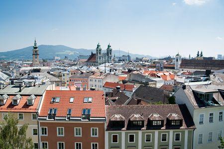 Baroque Part of Linz, Upper Austria