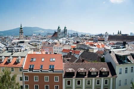 Baroque Part of Linz, Upper Austria