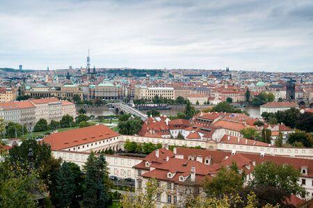 Cityscape of the Inner City in Prague Stock Photo - 7957693