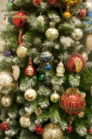 Detail vew of an Antique Christmas Decoration Stock Photo - 8372309