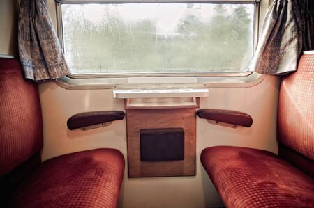 Inside a train Stock Photo - 8476174